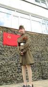 Празднование дня Победы в 47-й хабаровской школе