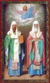 Святые воины Пересвет и Ослябя