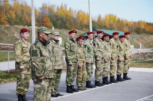В Хабаровске завершились квалификационные испытания на право ношения крапового берета