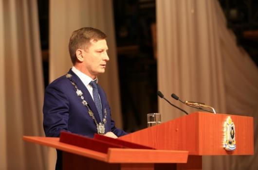 Год губернатором Подводим первые итоги деятельности главы Хабаровского края Сергея Фургала